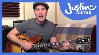 Basic Jazz Rhythm Guitar - Guitar Lesson - JustinGuitar [JA-002]