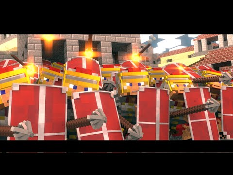 Rome the Last Hope - Overrun (Minecraft Animation)