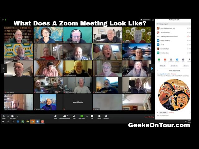 What Does a Zoom Meeting Look Like? Episode 187