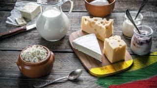 ЛИТОВСКИЕ ПРОДУКТЫ: Сыр. Масло. Сметана и фейк-продукты.