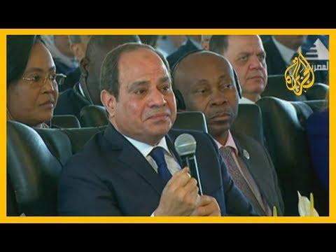 ???? #السيسي: المرأة المصرية ساعدت في تمرير أصعب إصلاح اقتصادي