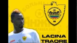Ласина Траоре добро пожаловать в Анжи  Lasina Traore welcome to Anji
