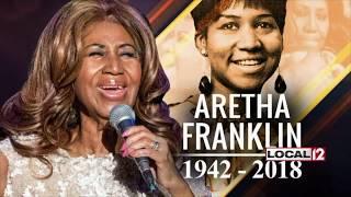 WKRC Local 12 Live Shot- Aretha Franklin Funeral