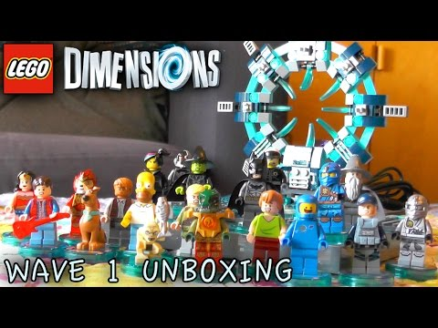 LEGO Dimensions - Wave 1 #1 Unboxing (71201-71223)