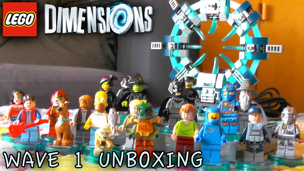 Lego Dimensions Wave 1 1 Unboxing 71201 71223 Youtube