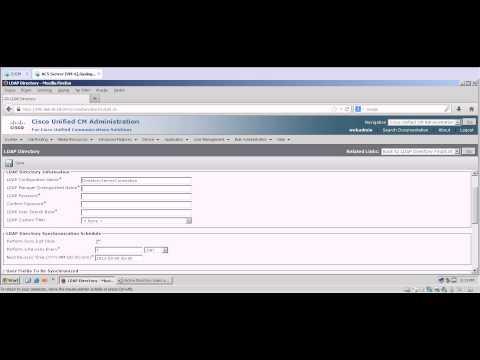 CUCM LDAP Integration