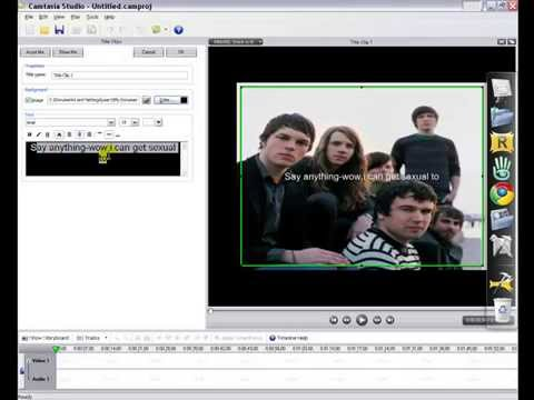 how to make youtube videos in camtasia