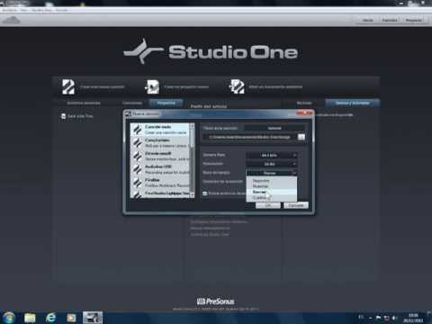 Tutorial Studio One en castellano - 01 - Introducción