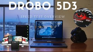 Drobo 53D Speed Test Results