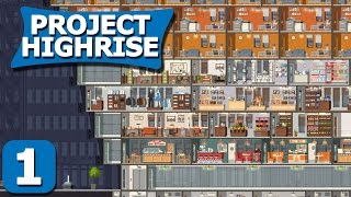 Gambar cover Project Highrise Part 1 - Negark's Building - Project Highrise Steam PC Gameplay Review