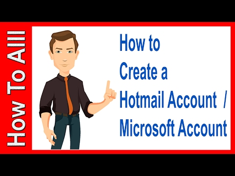 How to set up an email account on hotmail