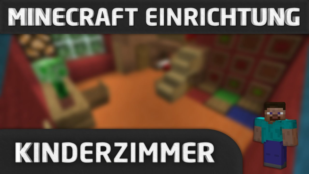 minecraft einrichtung kinderzimmer youtube. Black Bedroom Furniture Sets. Home Design Ideas