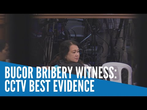 BuCor bribery witness stands by story, says security footage best evidence