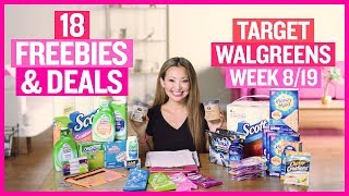 ★ 18 Target & Walgreens Coupon DEALS & FREEBIES (Week 8/19 – 8/25)