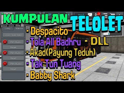Free donlod Kumpulan klakson Telolet for BUSSID   TELOLET MELODI   TELOLET BIASA   tingal donlod