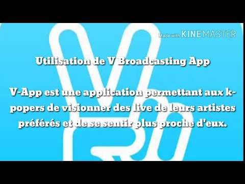 Les bases de V – Live Broadcasting App