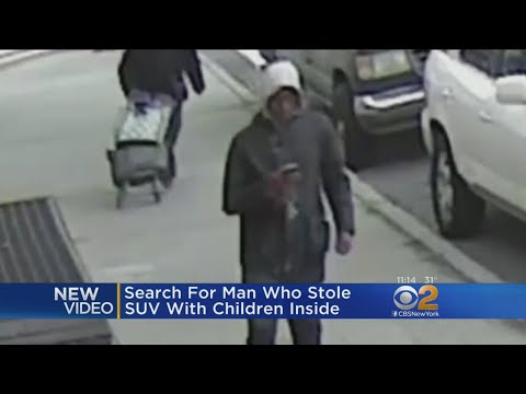 New Video Shows Man Accused Of Stealing SUV With Kids Inside