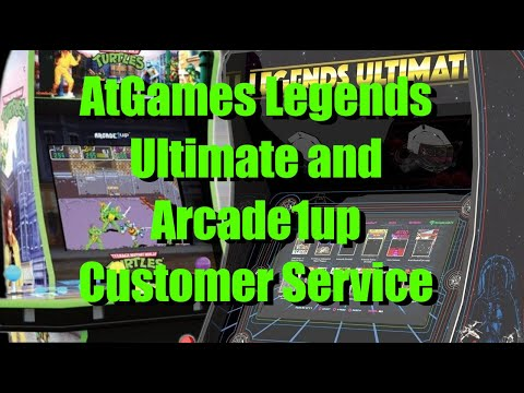 Actual customer service experiences with AtGames and Arcade1up from Bog Panda