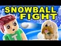Tobuscus Adventures: Snowball Fight! (stop Motion Animation) video
