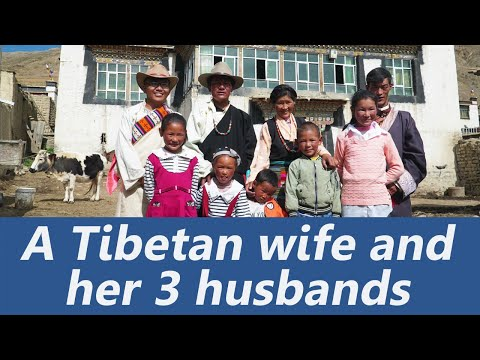 One Wife and Her Three Husbands: How is their Life? The Polyandry Culture in Tibet(Full Documentary)