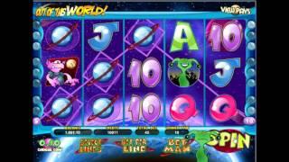 видео Игровой автомат Out of This World (Инопланетяне) в клубе Вулкан