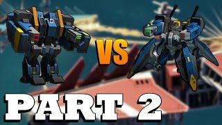 Planetary Annihilation Titans - War World 1v1 x2 Economy Part 2 of 2