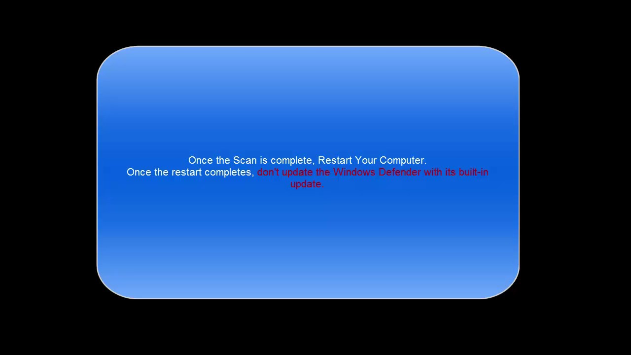 SOLVED: Windows Defender Update Error 0x80072ee2 - YouTube