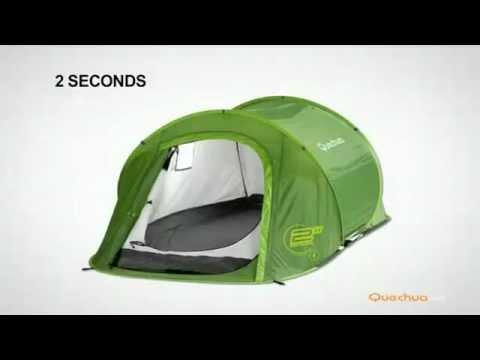 d1ba7c760 Barraca 2 Seconds I - Inovação Exclusiva Decathlon - YouTube