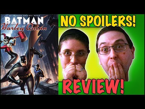 REVIEW! Batman and Harley Quinn NO SPOILERS! - DC Animated Movie 2017