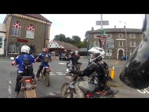 A Ride Through Builth Wells in Powys