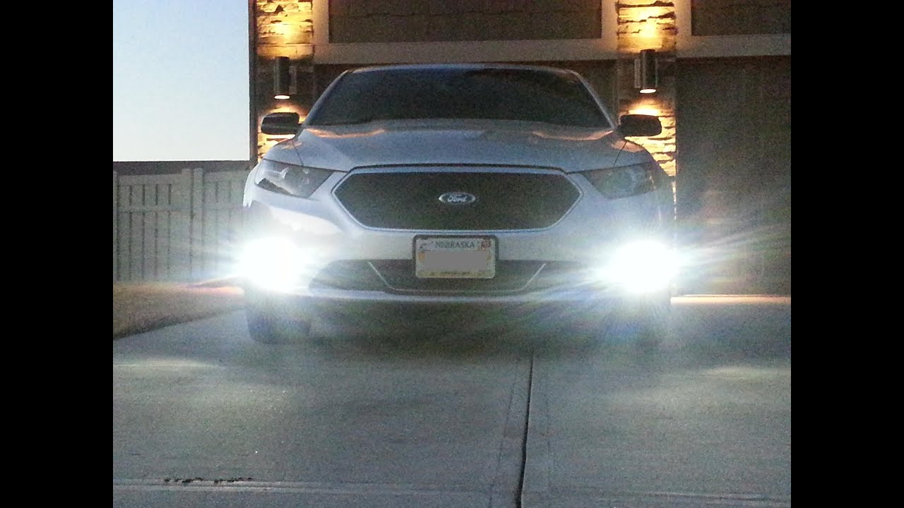 2014 Ford Taurus SHO Performance Pack 0 60 STOCK