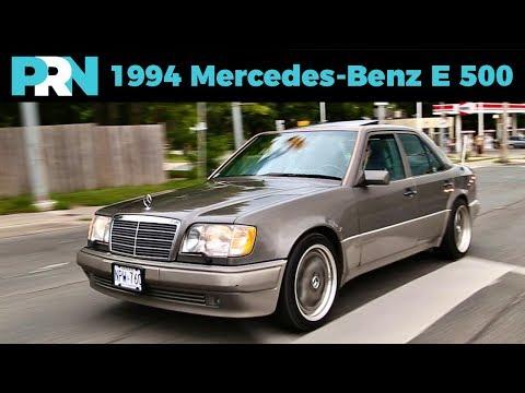 The Original 4-Door Porsche | 1994 Mercedes-Benz E 500 Review