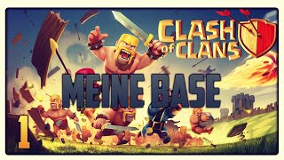 Let´s Play Clash of Clans #1 [GER] | Meine Base - Euer Wunsch Projekt | Vicevice