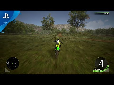 Monster Energy Supercross - The Official Videogame 2 - The Compound Area Gameplay | PS4