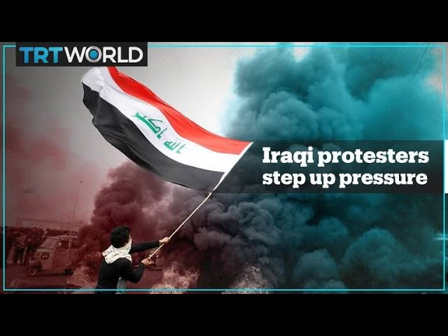 Iraqi protesters step up pressure for reforms