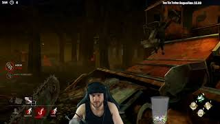 Dead by Daylight NEW KILLER! - LEATHERFACE! - TRYING HIS ABILITY!