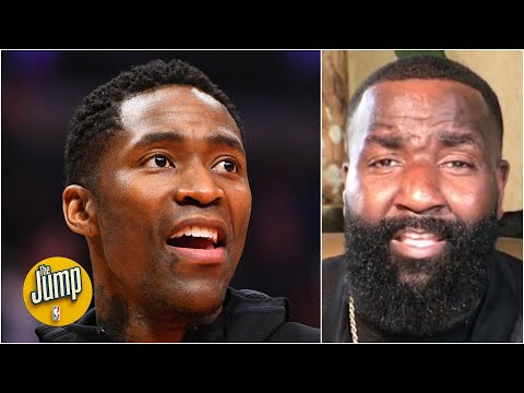 Kendrick Perkins on the Nets signing Jamal Crawford: He's a walking bucket! | The Jump