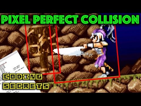 Is Pixel Perfect Collision Impossible? - CODING SECRETS