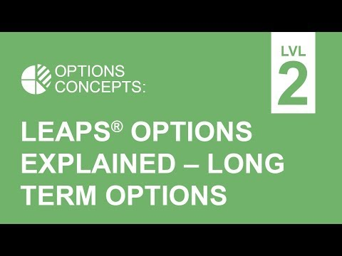LEAPS® Options Explained - Long Term Options Strategies