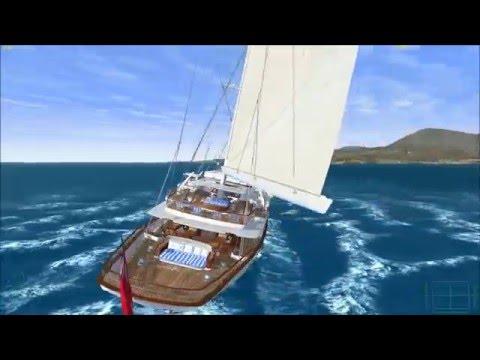 Athena luxury yacht for Vehicle Simulator