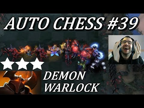 Crazy DEMON + WARLOCK feat. CK 3 TB 3 | Auto Chess Gameplay Commentary #39