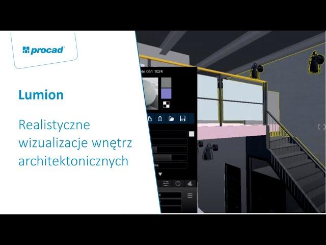 Realistyczne wizualizacje wnętrz architektonicznych z wykorzystaniem oprogramowania Lumion