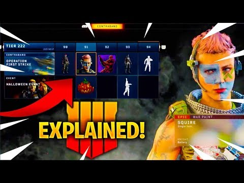 BLACK MARKET In BLACK OPS 4 EXPLAINED! [SEASONAL EVENTS, DLC WEAPONS, NEW SKINS, & MORE] BO4 UPDATE