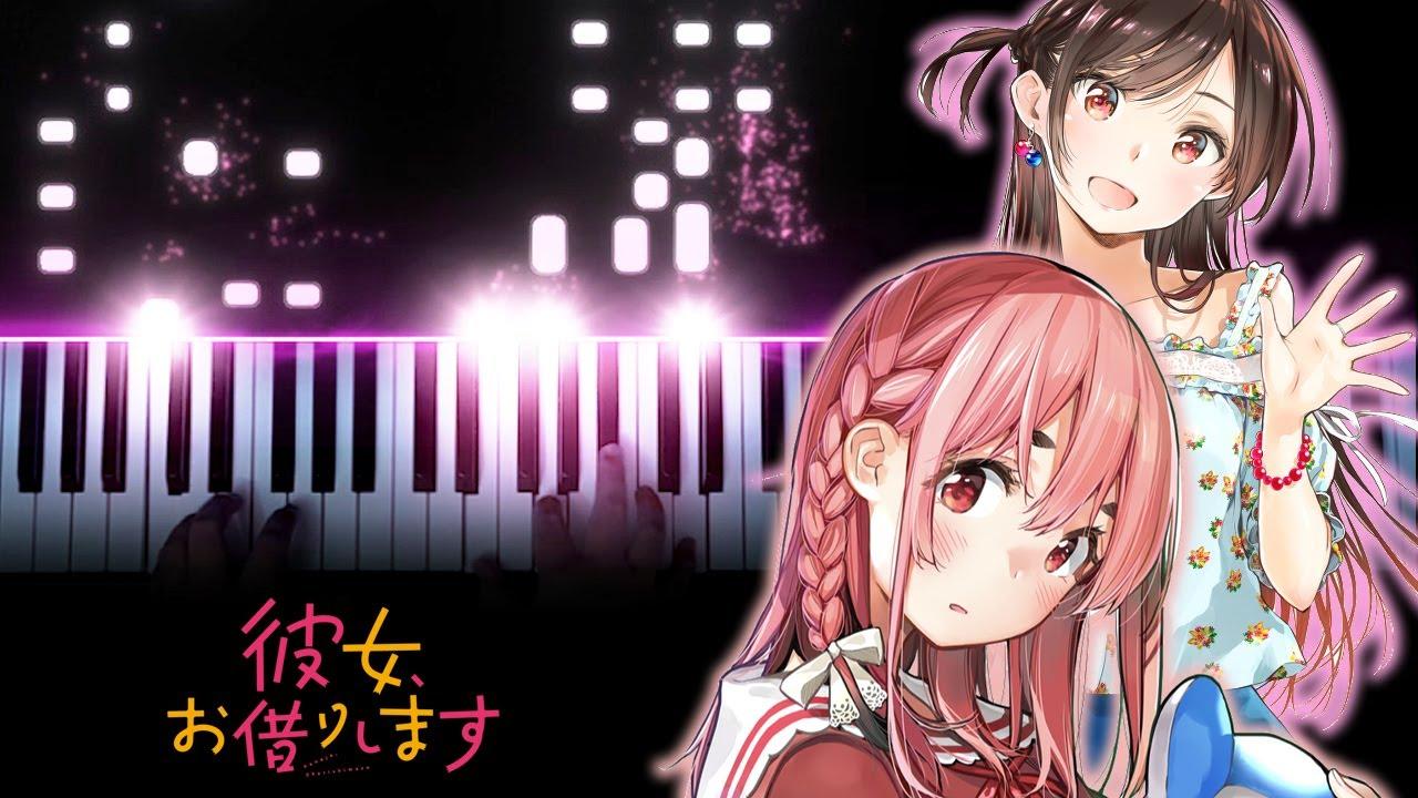 "Rental Girlfriend / Kanojo, Okarishimasu OP - ""Centimeter"" - the peggies (Piano)"