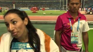 Юношеские Олимпийские игры 2014, легкая атлетика.