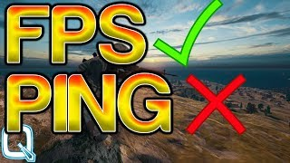 How To Check Your FPS And PING In PUBG!