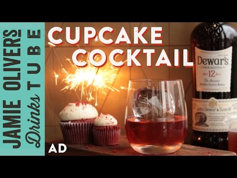 Red Velvet Cupcake Cocktail | Rich Woods | Drinks Tube Birthday Special