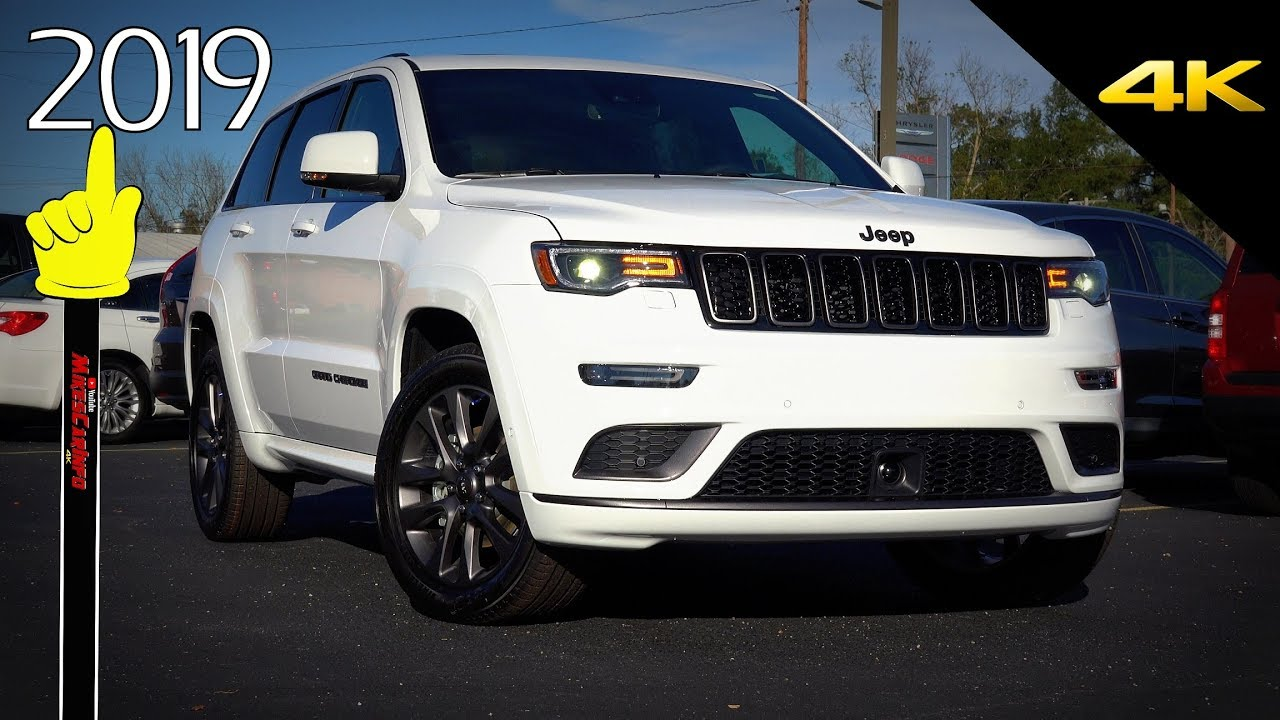 2019 White Jeep Grand Cherokee High Altitude