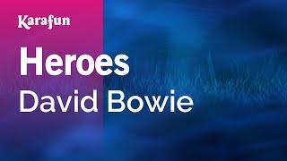 Karaoke Heroes - David Bowie *