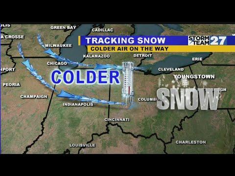 Tracking Snow Showers Tonight